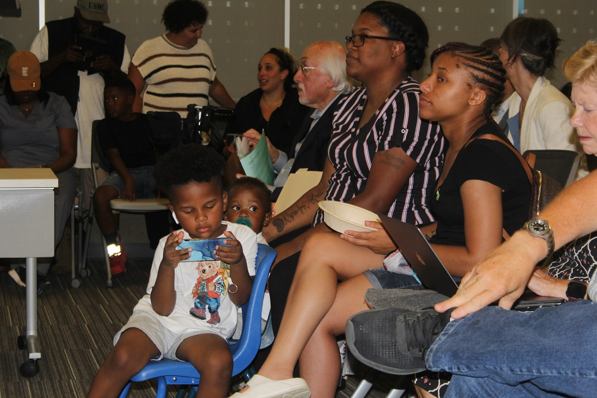 Families support anti-racism training